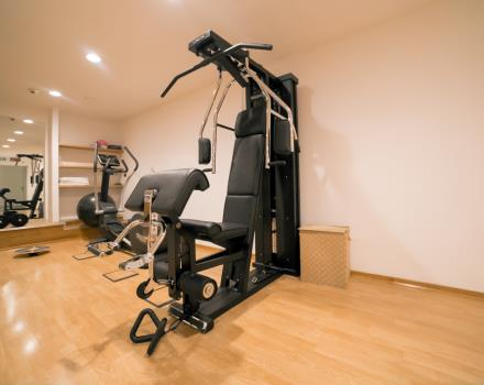 Fitness area-Hotel Royal Santina