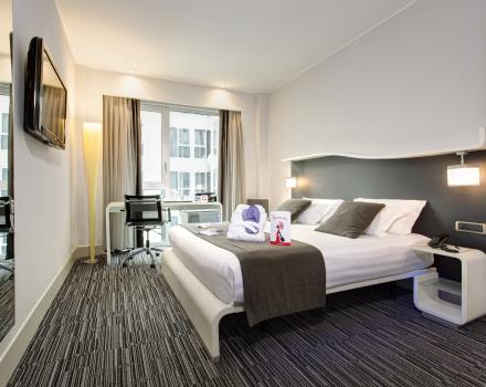 Double room Hotel Royal Santina Rome 4 star hotel