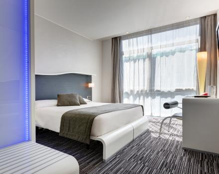 Double Comfort room-Hotel Royal Santina Rome 4 star hotel