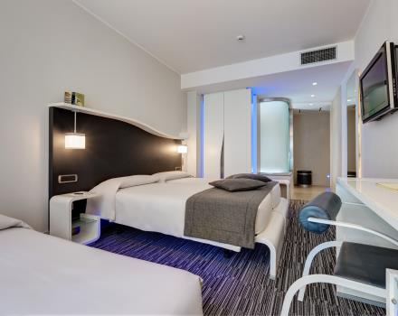 Triple Comfort room-Hotel Royal Santina Rome 4 star hotel