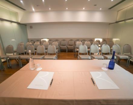 White Conference Room-Hotel Royal Santina Rome