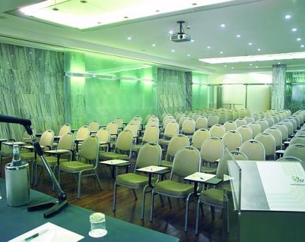 The most advanced technological quality for your meeting in Rome