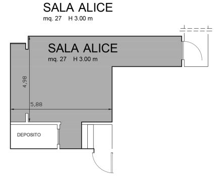 Alice Hall Floor Plan-Hotel Royal Santina